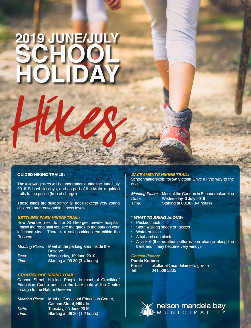 Holiday Hiking Trails 2019