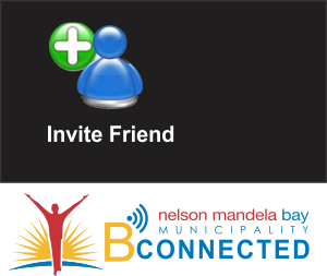 NMBM WiFi - invite a friend