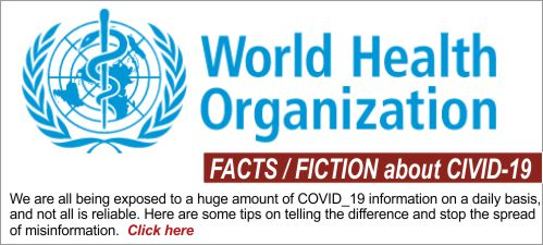 Myths and Facts about Covid-19: World Health Organization